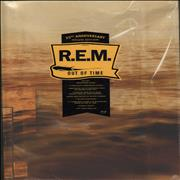 REM Out Of Time UK cd album box set
