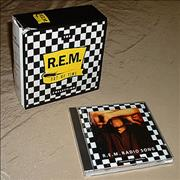 REM Radio Song + Out Of Time Box UK CD single