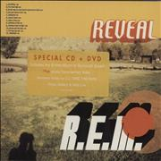 REM Reveal UK 2-disc CD/DVD set