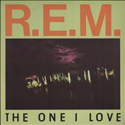 Click here for more info about 'REM - The One I Love - EX'