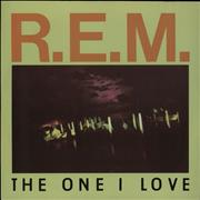 Click here for more info about 'REM - The One I Love - solid centre'
