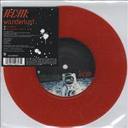 Click here for more info about 'REM - Wanderlust - Red Glitter Vinyl'