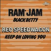 Click here for more info about 'R.E.O. Speedwagon - Black Betty / Keep On Loving You'