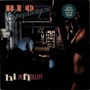 Click here for more info about 'R.E.O. Speedwagon - Hi Infidelity - stickered p/s'