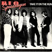 Click here for more info about 'R.E.O. Speedwagon - Take It On The Run - P/S'