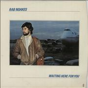 Click here for more info about 'Rab Noakes - Waiting Here For You - VG'