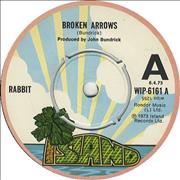 Click here for more info about 'Rabbit - Broken Arrows - A Label'