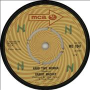 Click here for more info about 'Rabbit Mackay - Hard Time Woman'