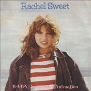 Click here for more info about 'Rachel Sweet - B-A-B-Y - p/s'