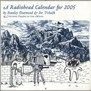 Click here for more info about 'Radiohead - A Radiohead Calendar For 2005'