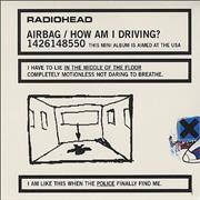 Click here for more info about 'Radiohead - Airbag/How Am I Driving? - Sealed'