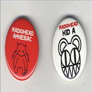 Click here for more info about ' - Amnesiac/Kid A'