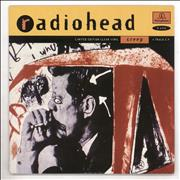 Click here for more info about 'Radiohead - Creep - Clear vinyl + Sleeve Ex'