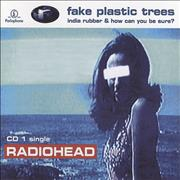 Radiohead Fake Plastic Trees - reissue UK 2-CD single set
