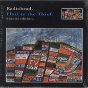Click here for more info about 'Radiohead - Hail To The Thief Special Edition + Postcards & Bag'