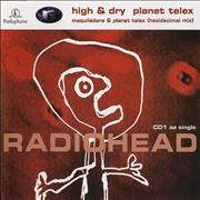 Radiohead High & Dry / Planet Telex UK CD single