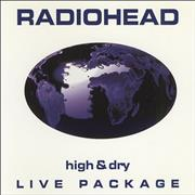 Click here for more info about 'Radiohead - High & Dry - Live Package'