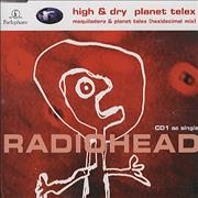 Click here for more info about 'Radiohead - High & Dry/Planet Telex'