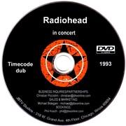 Radiohead In Concert USA promo DVD-R