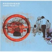 Radiohead Karma Police - CD 2 UK CD single