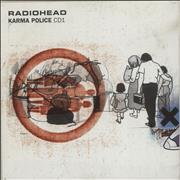 Click here for more info about 'Radiohead - Karma Police - CD1'