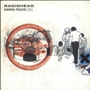 Click here for more info about 'Radiohead - Karma Police - reissue'