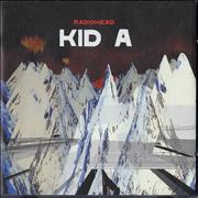 Radiohead Kid A UK CD album