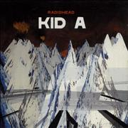 Radiohead Kid A UK CD album