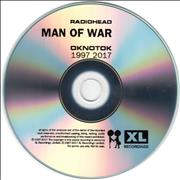 Click here for more info about ' - Man Of War (OKNOTOK 1997 2017)'