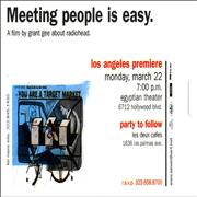 Click here for more info about 'Radiohead - Meeting People Is Easy - Austin & Los Angeles'