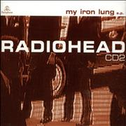 Radiohead My Iron Lung - CD2 Reissue UK CD single