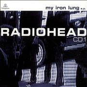 Radiohead My Iron Lung EP - CD1 Reissue UK CD single