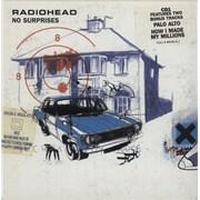 Radiohead No Surprises - CD1 UK CD single