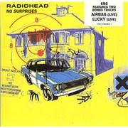 Radiohead No Surprises - Cd2 UK CD single