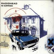Radiohead No Surprises Netherlands CD single Promo