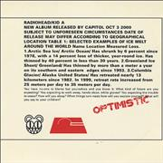 Click here for more info about 'Radiohead - Optimistic'