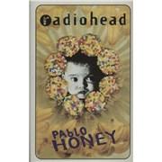 Radiohead Pablo Honey UK cassette album