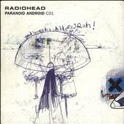 Click here for more info about 'Radiohead - Paranoid Android - 2nd'