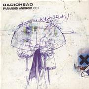Click here for more info about 'Radiohead - Paranoid Android - CD1'