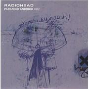 Radiohead Paranoid Android - Cd2 UK CD single