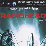 Radiohead Street Spirit - 2nd Issue + Poster UK 2-CD single set