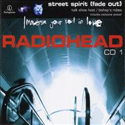 Click here for more info about 'Radiohead - Street Spirit [Fade Out] - 2nd Issue CD1 + Poster'