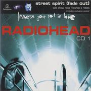 Click here for more info about 'Radiohead - Street Spirit (Fade Out) - 2nd issue CD1'