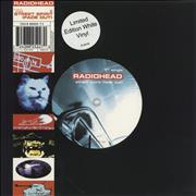 Click here for more info about 'Radiohead - Street Spirit (Fade Out) - White Vinyl - EX'