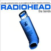 Click here for more info about 'Radiohead - The Bends - Mispressed'