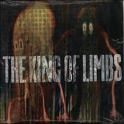 Click here for more info about 'Radiohead - The King Of Limbs - Clear Vinyl - Open in Bag'