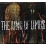 "Radiohead The King Of Limbs - Clear Vinyl - Open in Bag UK 10"" vinyl"