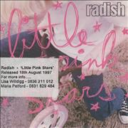 Click here for more info about 'Radish - Little Pink Stars'