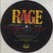 Click here for more info about 'Rage (UK Rock) - Bootliggers (1981)'
