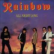 Click here for more info about 'Rainbow - All Night Long - P/S'